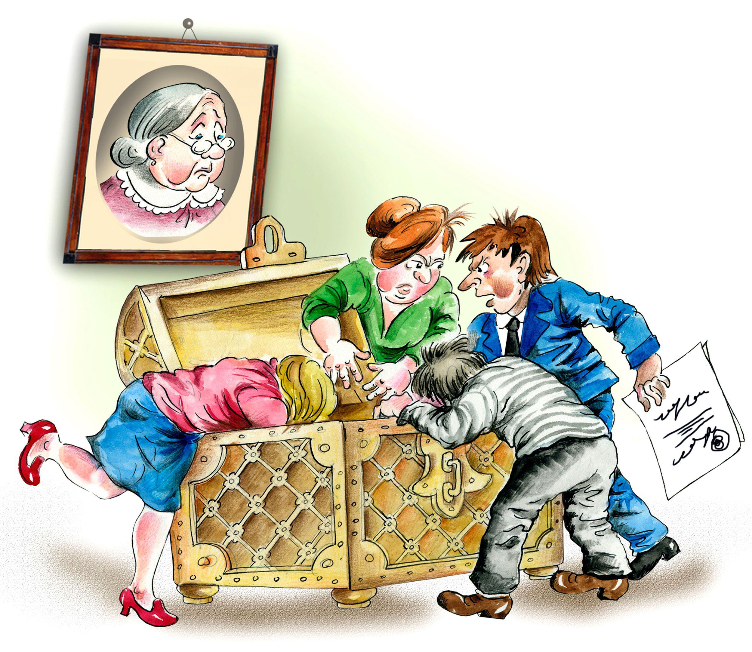 Действия нотариуса при конфликте между наследниками